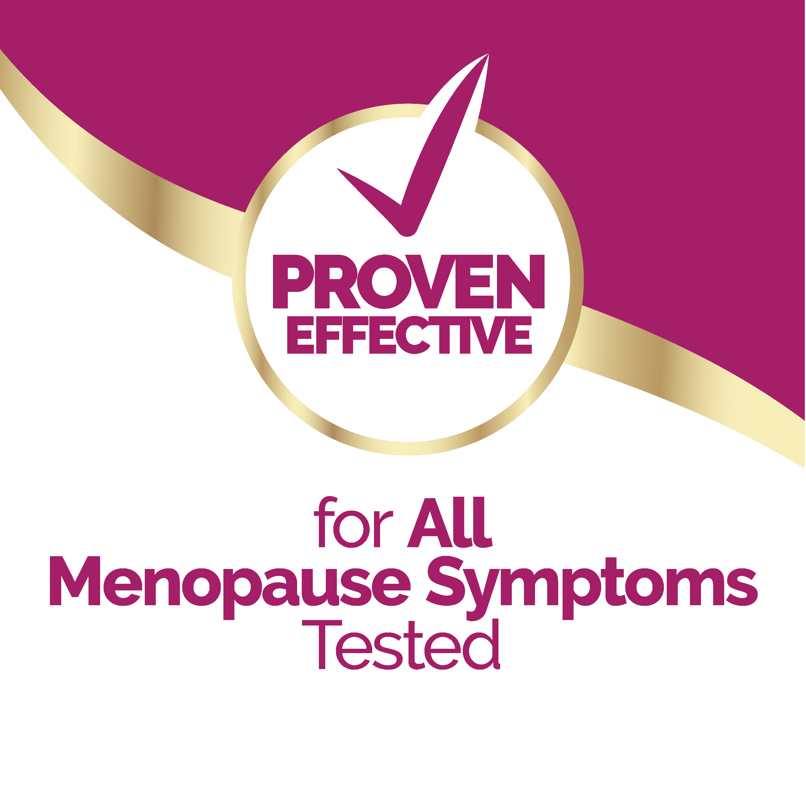 Proven Effective for All Menopause Symptoms Image