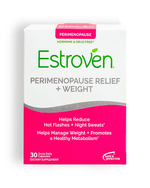 Estroven® Perimenopause Relief + Weight